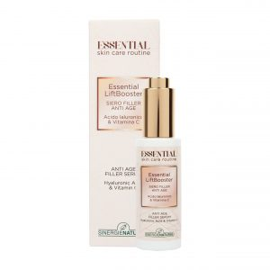 Essential LiftBooster: siero filler Anti Age  con Acido Ialuronico e Vitamina C, 30 ml